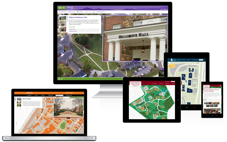 Interactive Campus Maps